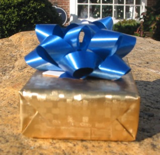 We're at it again!  Finders Keepers 2010 - We're pleased to announce our 2nd Annual Finders Keepers event!  Keep your eyes open around the Lower-Cape area for our signature gold wrapped box with blue bow.  Read the tag, a surprise could be waiting inside the box for you to keep or share with someone you love.  One gift a day will be hidden from December 1st through 24th. Hints will be posted on our facebook page.  Wishing you a season of happy surprises.